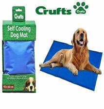 Large 45 X 60cm Crufts Pet Cooling GEL Mat Bed Dog Cat Heat Relief Cushion