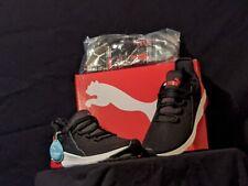 PUMA Electron Street Men's SNEAKERS Men Shoe Basics Sz 12 - Black/High Risk Red