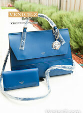 BNWT RRP$244 GUESS ASHLING Shoulder Bag Satchel Wallet Purse Clutch Blue