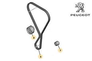 Genuine Peugeot 208 2012-2018 1.2cc Timing Belt Kit - 1610872480