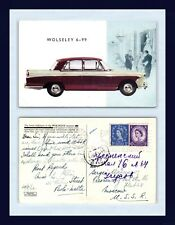 UK AUTOMOTIVE WOLSELEY 6-99 PAOLA MALTA WOMAN TO MOSCOW USSR 19 SEPTEMBER 1960