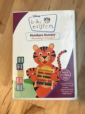 DISNEY BABY EINSTEIN - NUMBERS NURSERY DISCOVERING 1 THROUGH 5 DVD USED