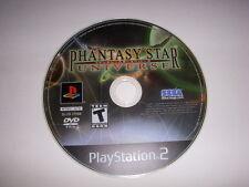 PS2, Phantasy Star Universe Video Game, Used, No Case!