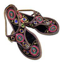 Women Slippers Mojari Traditional Punjabi Khussa Sandals US Style Handmade Jutti