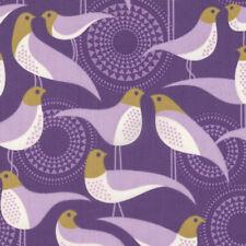 Joel Dewberry VOJD011 Modernist Perch Violet Cotton VOILE Fabric By Yard