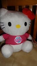 Hello Kitty Teddy, can be hung from loop at top