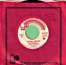 PIGLETS JOHNNY REGGAE ISLAND SKA  PROMO 7 IN 45 RPM RECORD