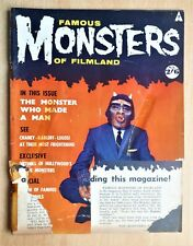Famous Monsters Of Filmland Magazine No 2 1959 Curse Of The Werewolf Horror etc