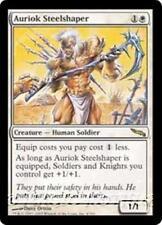 AURIOK STEELSHAPER Mirrodin MTG White Creature — Human Soldier RARE