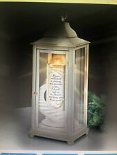 Illuminated Remembrance Lantern With Flameless Candle By Bradford Exchange