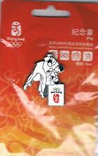 2008 Beijing Olympic Games Mark Judo Sports Pin
