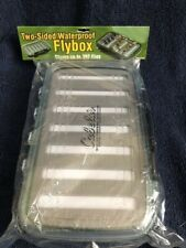 Fly Box - Plastic, Cabela's Two-Sided Waterproof holds 392 flies