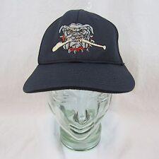 Georgia Bull Dogs Mens Navy Baseball Hat Cap XS-SM
