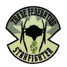 Disney Star Wars Trade Federation Starfighter Patch Officially Licensed Iron On