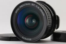 【Top Mint in Case】Pentax SMC 67 45mm F/4 lens for 6×7 67 67ll from Japan #410