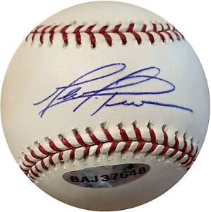 Chicago Cubs Mark Prior Autographed/Signed Baseball Upper Deck Authenticated