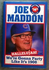 Maddon HALLELUJAH! Party like it's 1908 Chicago Cubs HCDJ book NEW DJ poster