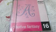 Pfaff Embroidery Machine Card Creative Fantasy #16 Monogram 7570,7560, 2140,2170