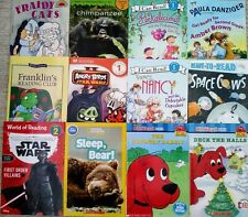 Lot 12 I CAN READ Beginning LEVEL 1 2 &Pre Reader STAR WARS Angry Birds Clifford