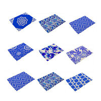 Blue And White China Style Cotton Linen Insulation Placemats Place Pad