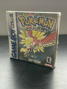 Pokémon Gold Version Sealed In Box Gameboy Color