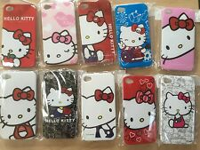 NEW - Hello Kitty Hard Case Cover for iPhone 4 4S - White, Black, Pink, Red