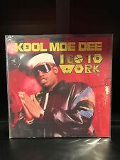 "Kool Moe Dee: I Go To Work; 12"" Single-3 Tracks- Jive Records-Good Cond"