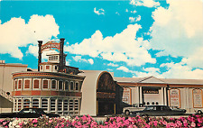 "Las Vegas Nv Showboat Hotel/Casino Entrance ""On Strip"" Chrome Postcard"