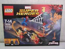 Lego Marvel Super Heroes 76058 Spider-Man: Ghost Riders Verbündete - NEU & OVP