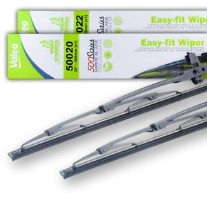 """NEW PAIR OF OEM VALEO 20"""" & 21"""" WIPER BLADES FITS ACURA LEGEND 86-90 76620SP0A01"""