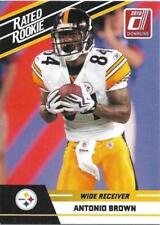 ANTONIO BROWN Steelers 2010 Donruss Rated Rookie #6 SP RC Mint / 2 Available