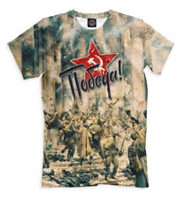 Pobeda - t-shirt WW2 ussr Russia fascist Germany 9 may Great Victory Победа