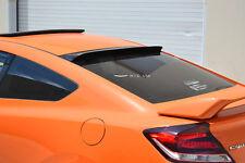 HIC USA 2012 to 2015 Hona Civic 2dr rear roof window visor spoiler Matte Black