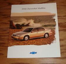 Original 1998 Chevrolet Malibu Sales Brochure 98 Chevy