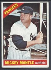 1966 Topps Baseball Mickey Mantle #50 VG+