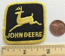 """SMALL*VINTAGE*JOHN DEERE PATCH*Embroidered Patch*1.75""""x1.75"""""""