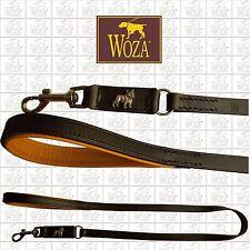 WOZA Premium Lederleine Französische Bulldogge Vollleder Handgenäht Nappa LE1921