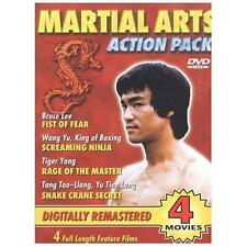 Martial Arts Action Pack (DVD, 2003) NEW Sealed