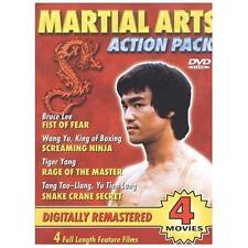 Martial Arts Action Pack (DVD, 2003) - New