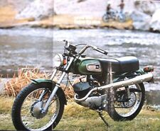 1971 Harley Davidson Rapido 125cc Original Brochure 71 Xlnt