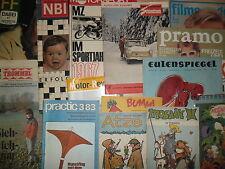 20x verschiedene DDR - Zeitschriften Weihnachten Geschenkidee Mosaik Fuwo KFT