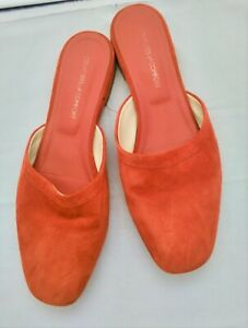 Creatures Of Comfort Red Suede Mules Shoes Size UK 5 EU 38
