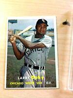 1957 Topps #85 Larry Doby Chicago White Sox Baseball Card