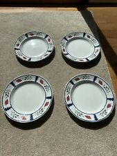 Adams Lancaster England Dinner Plates Ironstone Set of 4