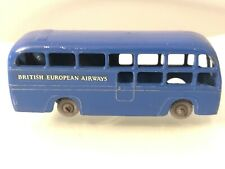 VINTAGE LESNEY MATCHBOX MOKO GRAY WHEELS No. 58 BEA COACH BUS
