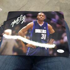 Nick Van Exel autograph signed 8 x 10 photo Mavericks NBA Jsa