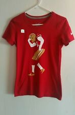 Nike Womens Slim Fit  San Francisco 49ers  Top Shirt Size Small NWOT