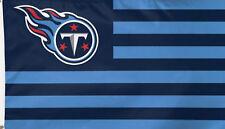 Tennessee Titans Nfl Deluxe Grommet Flag Licensed Football Banner 3' x 5'