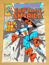 CAPTAIN AMERICA #372 MARVEL COMIC HIGH GRADE NICE CONDITION JULY 1990