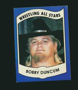 1982 PWE Wrestling All Stars Series B #28 Bobby Duncum Austin Texas (PEO)